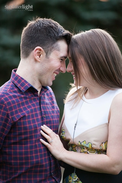 Engagement photo sessions in CT with SophterLight Photography.
