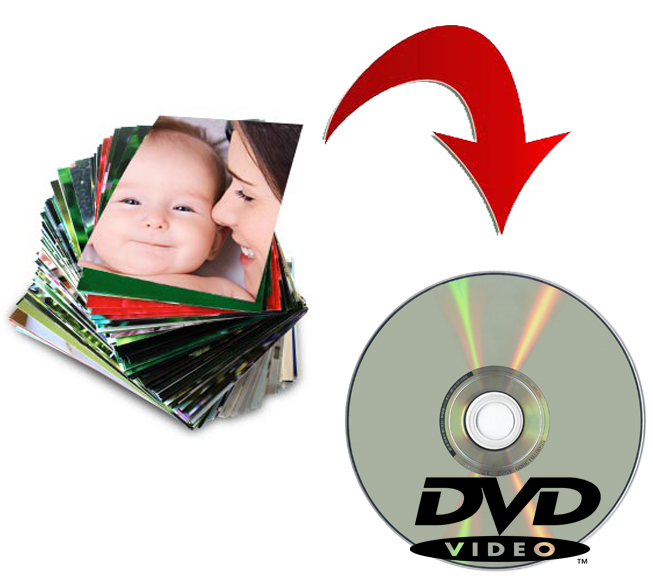 DVD Photo transfer services from SophterLight PHotography